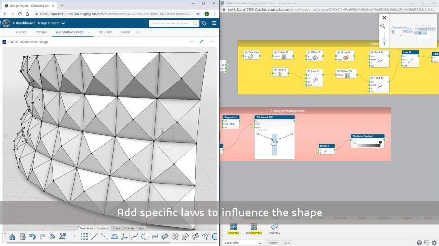 3d pattern shape creator