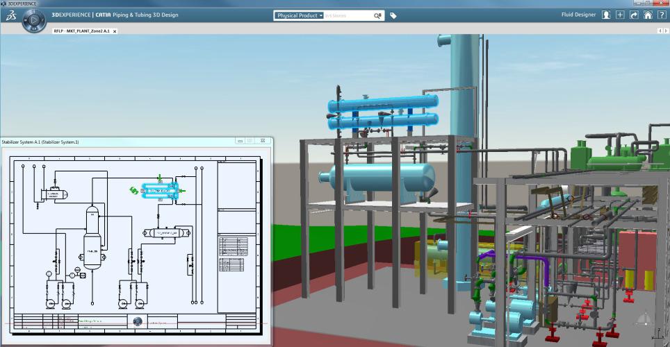 fluid 3d systems designer