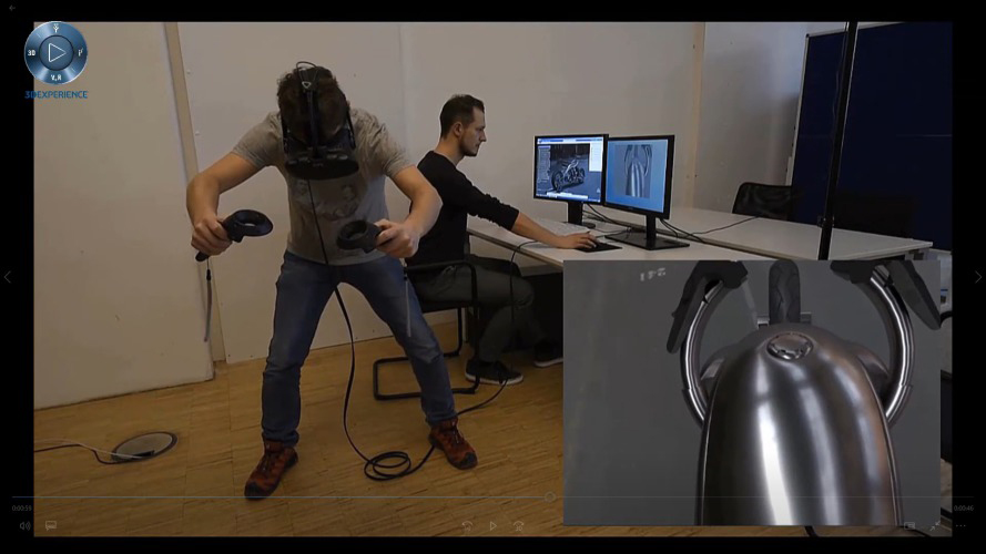 virtual reality reviewer